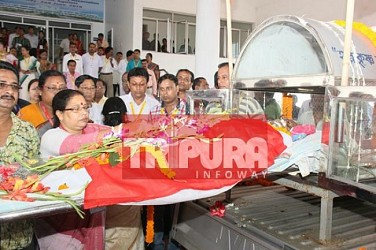 State paid tribute to expired former State Secretary P Kapali at Assembly. TIWN Pic May 31